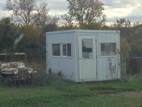 Just a guard shack