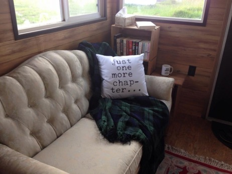 For cozy reading